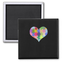 Autism Awareness Autism Heart Autism Love Magnet