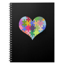 Autism Awareness Autism Heart Autism Love Notebook