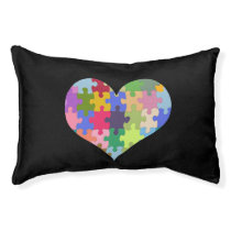 Autism Awareness Autism Heart Autism Love Pet Bed