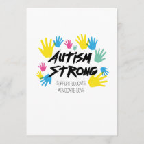 Autism Awareness Autism Strong