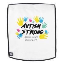 Autism Awareness Autism Strong Backpack