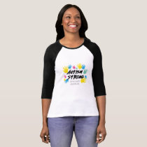 Autism Awareness Autism Strong T-Shirt