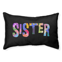 Autism Awareness Autism Support Sister Pet Bed