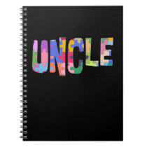 Autism Awareness Autism Support Uncle Notebook