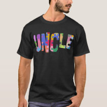 Autism Awareness Autism Support Uncle T-Shirt