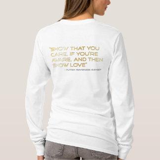 Autism Awareness Avenger Logo_Show Love T-Shirt