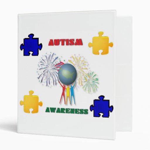 Autism Awareness Avery Binder