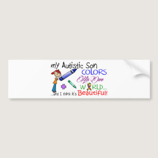 Autism Awareness - Awesome Son! Bumper Sticker