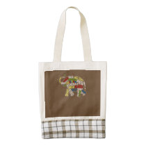 Autism Awareness Bag: Elephant Bag