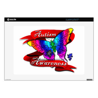Autism Awareness Banner Decals For Laptops