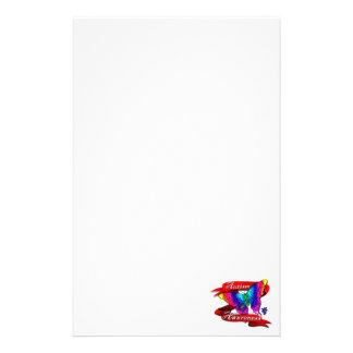 Autism Awareness Banner Stationery