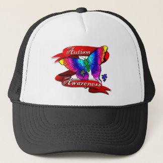 Autism Awareness Banner Trucker Hat