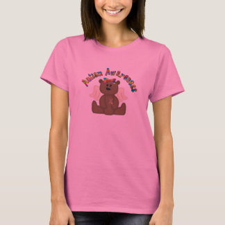 Autism Awareness Bear T-Shirt