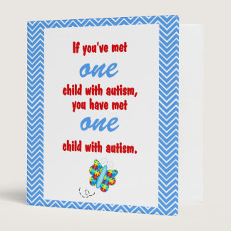 Autism Awareness Binder