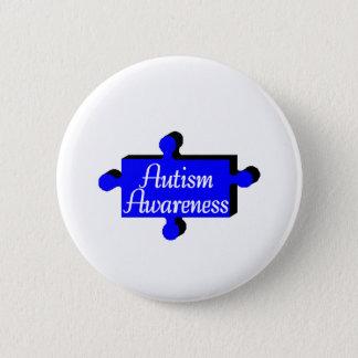 Autism Awareness (Blue PP) Button
