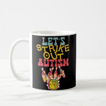 Autism Awareness Bowling Coffee Mug Bowler Team