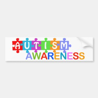 Autism Awareness Bumper Stickers