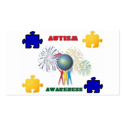 Autism Awareness Business Card