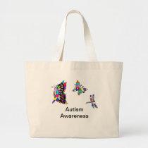 Autism Awareness butterflies Tote Bag