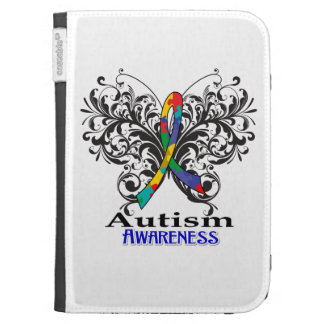 Autism Awareness Butterfly Kindle Keyboard Case