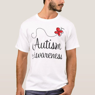 Autism Awareness Butterfly Gift T-Shirt