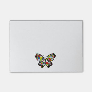 Autism Awareness Butterfly Notas Post-it®