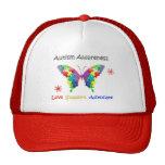 Autism Awareness Butterfly Trucker Hat
