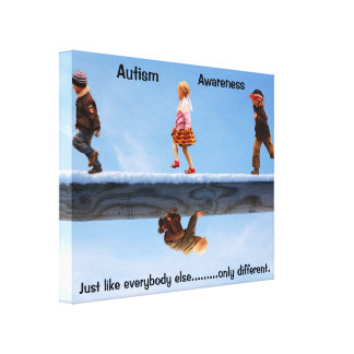 Autism Awareness Canvas