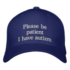 Autism Awareness Cap at Zazzle