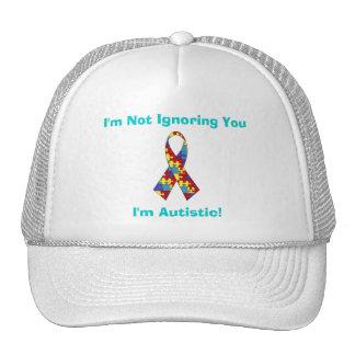Autism Awareness Cap Mesh Hat