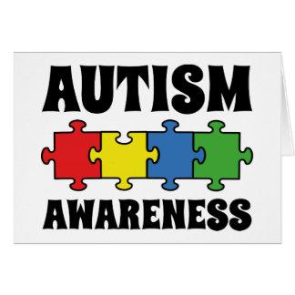 Autism Awareness Card
