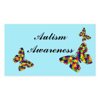 Autism Awareness Cards Business Card Template