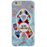 Autism awareness case barely there iPhone 6 plus case