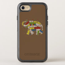 Autism Awareness Case: Elephant Shirt Case