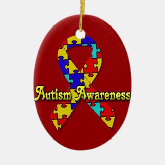 Autism Awareness Ceramic Ornament