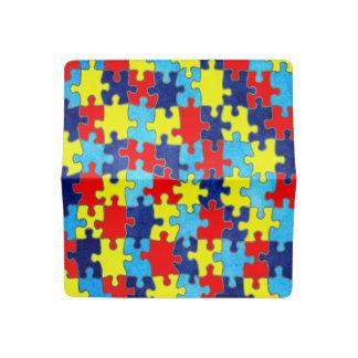 Autism Awareness Checkbook Cover
