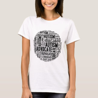 Autism Awareness Circle Design GoTeamKate T-Shirt