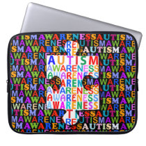 Autism Awareness Computer Sleeve