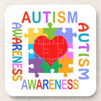 Autism Awareness Beverage Coasters