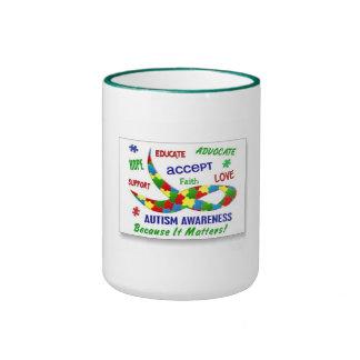AUTISM AWARENESS CUP MUG