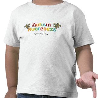 Autism Awareness (customizable) Tshirts
