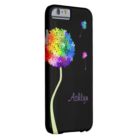 Autism Awareness Dandelion Wishes Barely There iPhone 6 Case