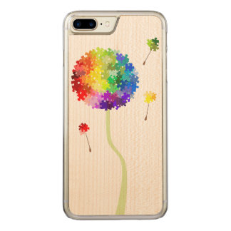 Autism Awareness Dandelion Wishes Carved iPhone 7 Plus Case