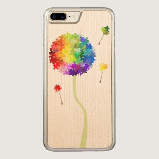 Autism Awareness Dandelion Wishes Carved iPhone 8 Plus/7 Plus Case