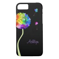 Autism Awareness Dandelion Wishes iPhone 7 case