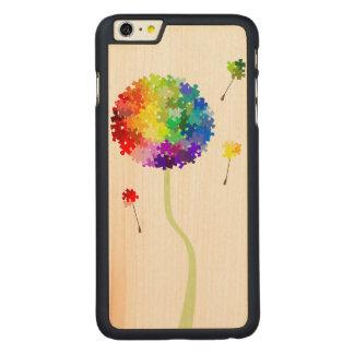 Autism Awareness Dandelion Wishes Carved® Maple iPhone 6 Plus Slim Case