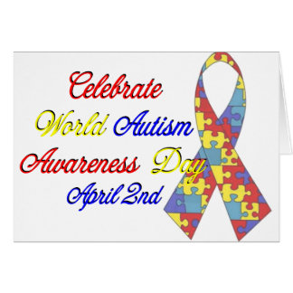 Autism Awareness Dayu Card