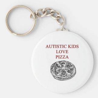 autism awareness design what autistic kids love basic round button keychain