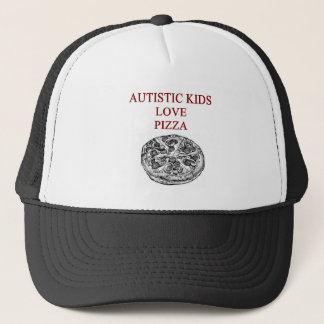 autism awareness design what autistic kids love trucker hat