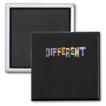 Autism Awareness Different Autism Awareness Magnet